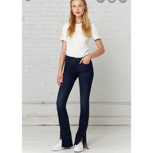 3x1-W2 Split Seam Bell Jeans